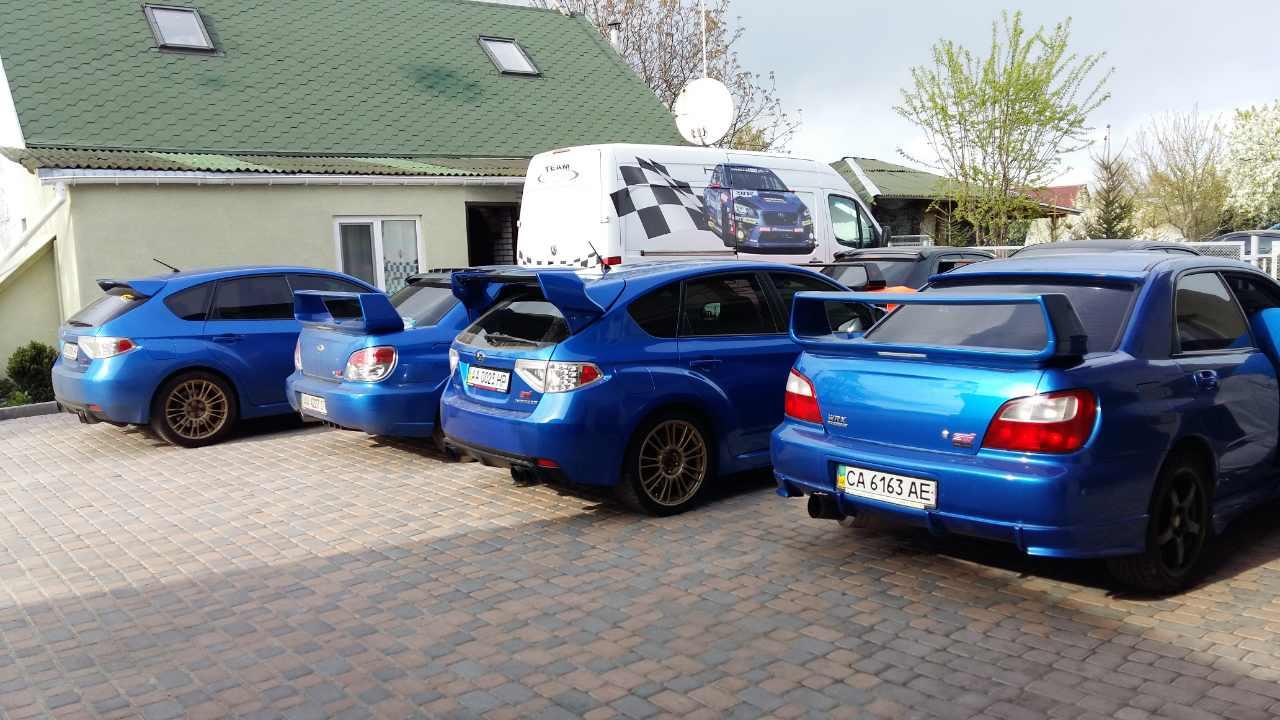 Ремонт автомобили Subaru
